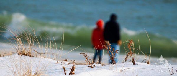 Winter Beach Walk