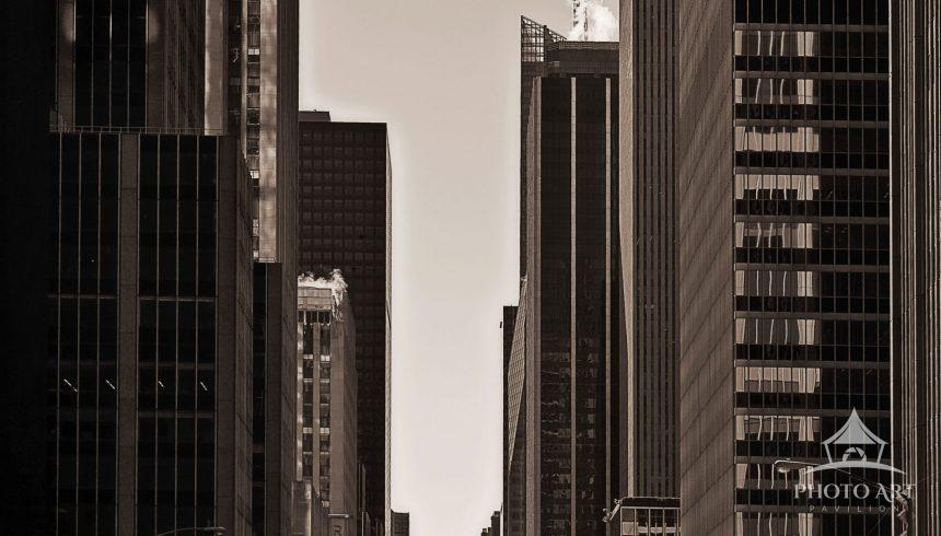 The Canyons of New York I
