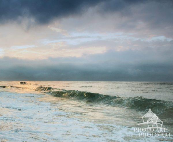 Montauk Wave at Sunrise