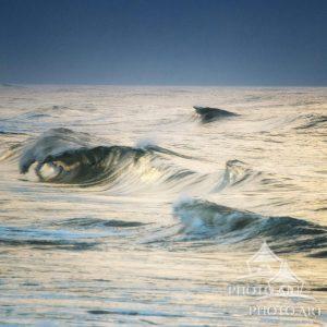 Montauk Waves in Blue