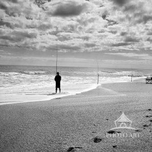 Photographer: Joanne Henig Photography Date: September, 2011 Description: A lone fisherman