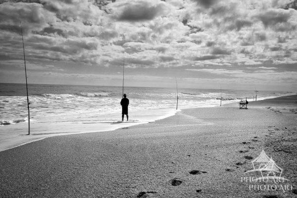 Photographer: Joanne Henig Photography Date: September, 2011 Description: A lone fisherman