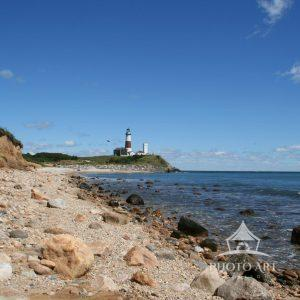 The Montauk Point lighthouse is Long Island's very own seaward steward.
