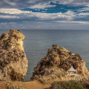 A view out to see from the cliffs of Lagos, Portugal.