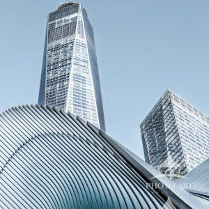 The new World Trade Center, Oculus & Freedom Tower occupy sacred ground in downtown Manhattan. A