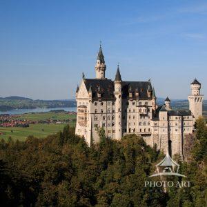 The Sleeping Beauty castle's design in Disneyland was inspired by Neuschwanstein. Neuschwanstein