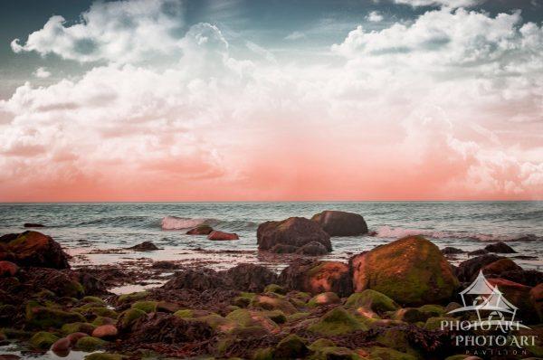 Image of sunset on Montauk Point.