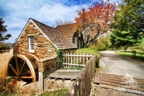 The Smythe Grist Mill (sometimes called the Setauket Grist Mill) is located within the Frank