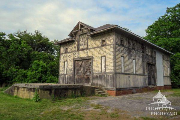 This is the only building left of 30 structures on the George C. Taylor 1500 acre estate, all