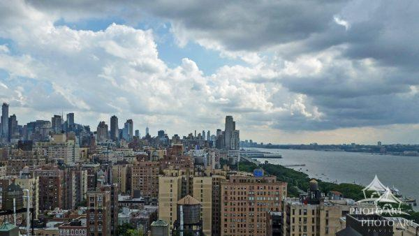 This photo was taken from a rooftop at 86th Street on the West Side of Manhattan looking South.