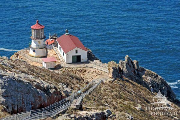 The Point Reyes Lighthouse, also known as Point Reyes Light or the Point Reyes Light Station, is a