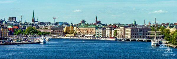 Stockholm, the capital of Sweden, encompasses 14 islands and more than 50 bridges on an extensive