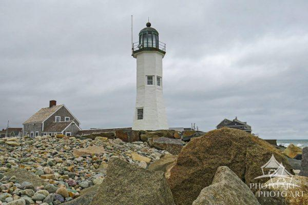 The Old Scituate Lighthouse was built in 1811 and  is now run by the Scituate Historical Society