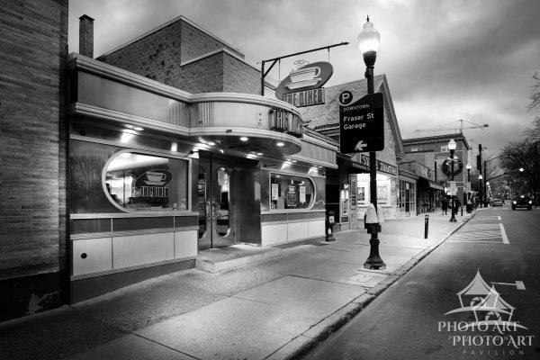 Cool old diner in the college town of State College, Pennsylvania.