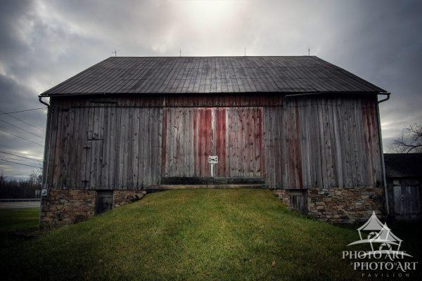 Old roadside barn in Pennsylvania.