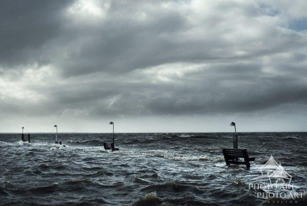 Taken as Hurricane Sandy was moving out of the area in Sayville, NY. This image has been featured by