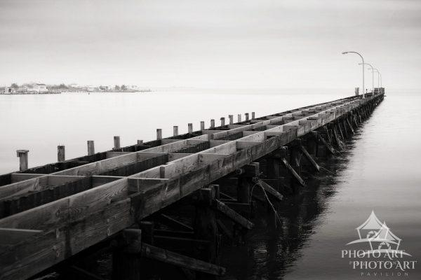 The fishing piers are a popular destination for Long Islanders to visit, but in the wake of