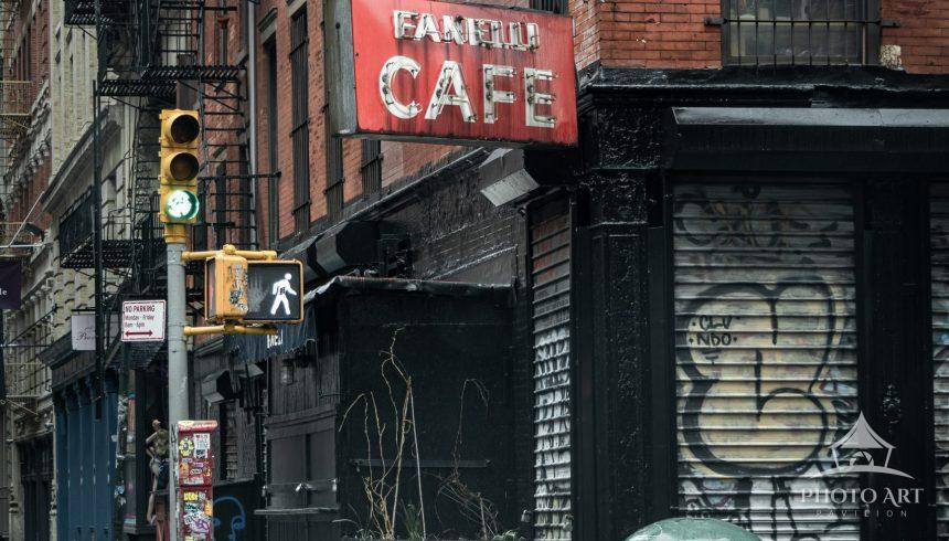 The legendary Fanelli Cafe in Soho, NYC.