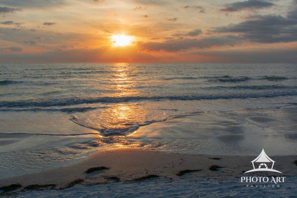 Sunset At Redington Beach Florida.