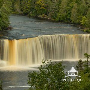 Michigan's wild and remote Upper Peninsula has beautiful waterfalls everywhere, but the king of