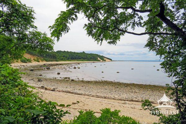 Caumsett State Park has magnificent and colorful views of the Long Island Sound.
