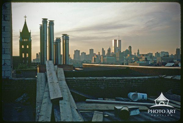 Late afternoon on a Park Slope rooftop