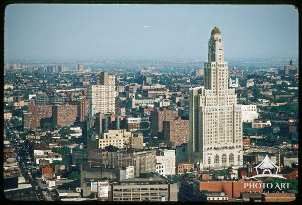 Williamsburg Bank Tower and Downtown Brooklyn