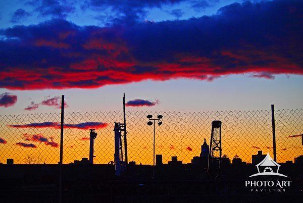 Sunset over Greenpoint