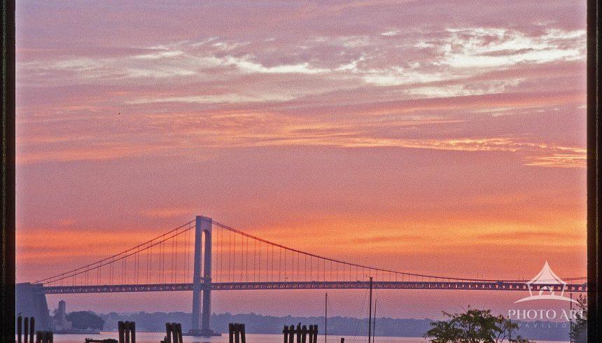 Whitestone Bridge at dawn