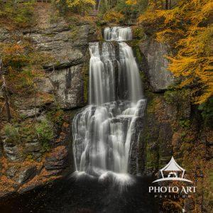 Bushkill Falls in Autumn