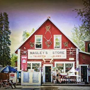Nagley's General Store which was featured on the show Northern Exposure in Talkeetna, Alaska.
