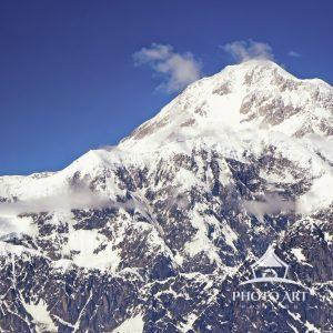 Amazingly clear view of Denali or Mount McKinley, as it was previously known. This mountain peak is