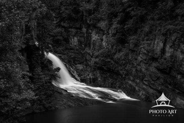 Tallulah Falls cascading down through Tallulah Gorge. Simply beautiful, simply elegant.