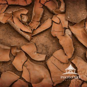 The result of a dried-up riverbed just outside of Bryce Canyon. Amazing how this part of the