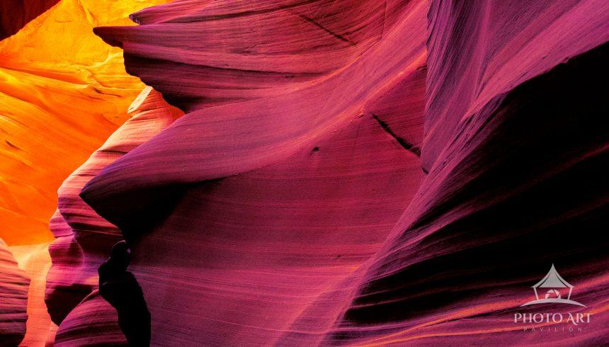 Upper Antelope Canyon in Page, AZ