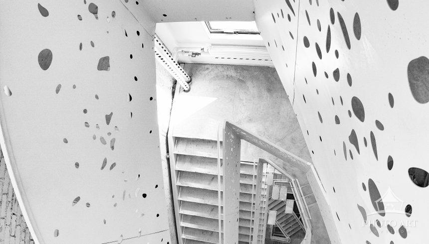 Different design staircase in NYC