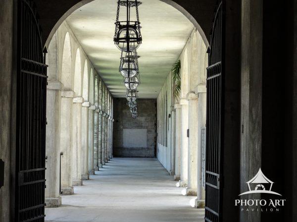A sunlit Hallway