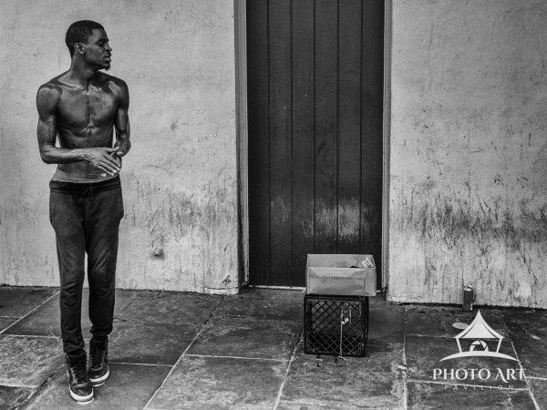 Award winning photo of New Orleans street dancer
