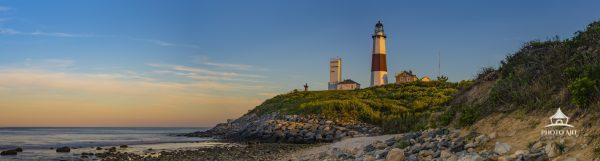 Montauk Lighthouse Panorama.