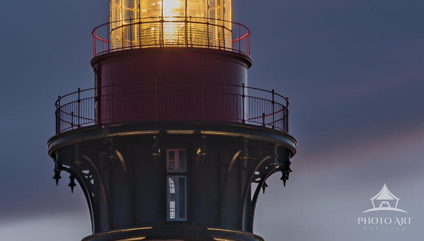 One of my favorite lighthouses at dusk - the lighthouse still uses a beautiful & original
