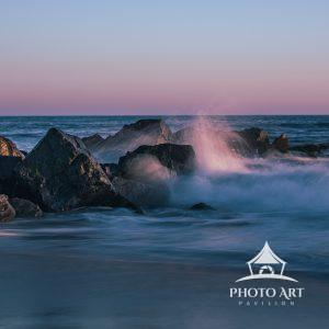 My friend Walter is fascinated with these rocks, and so we met one night to collaborate and shoot