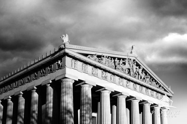 The Parthenon... in Nashville Tennessee. The Parthenon stands proudly as the centerpiece of