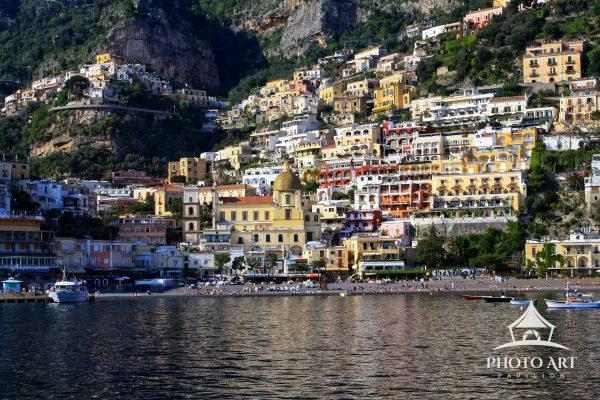I took this shot after taking a bus from Sorrento on a winding round, where I thought we were going