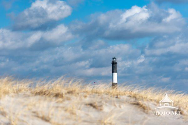 Beautiful winter's day near the Fire Island Lighthouse. Don't let this beautiful moment trick you,