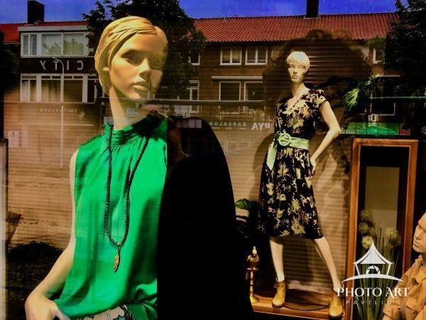 """Part of the collection """"alive and kicking"""", about fashion dolls who seem to live."""