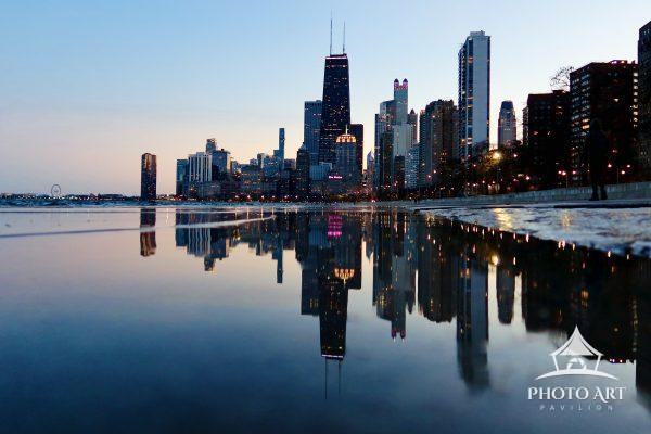 A Vanishing point is a point where lines meet. Visit the Vanishing Point of Chicago's skyline and