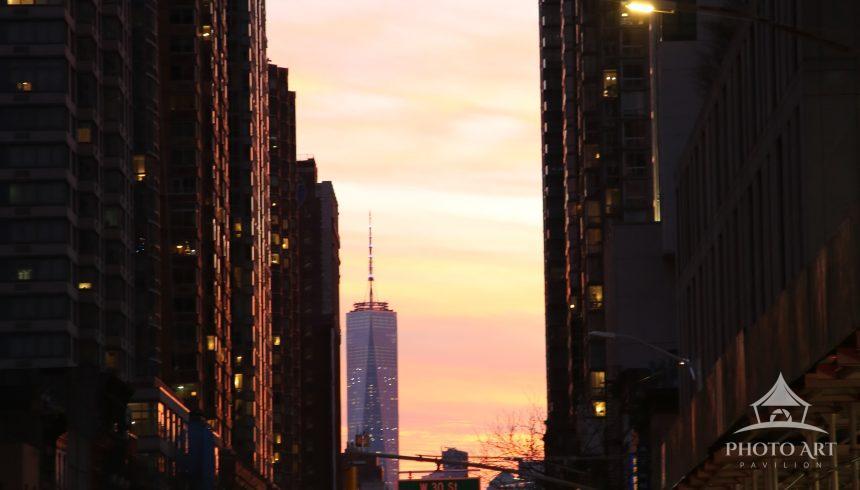 Rush hour in Midtown Manhattan