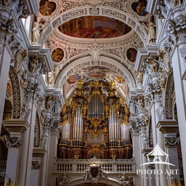 The Passau Cathedral houses the worlds second largest pipe organ. Do we need sound to hear its