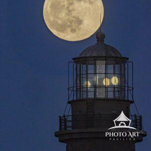 "The last Full Moon of the decade, otherwise called the ""Cold Moon"" begins it's cross behind the"