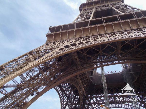 Eiffel Tower Up close
